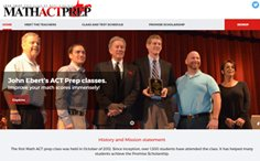 Math Act Prep Wordpress Website
