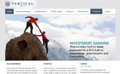 Vertical Group Corporate Website
