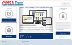 MCA Digital Online Library Website