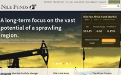 Nile Funds Wordpress Website