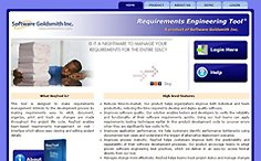 Requirements Engineering Tool Website
