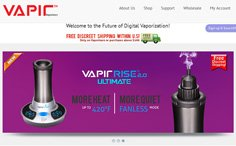 Vapir ECommerce Website
